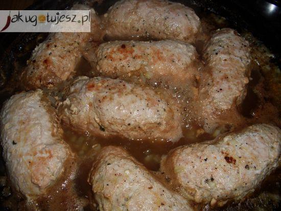 Roladki schabowe ze szpinakiem i serem feta