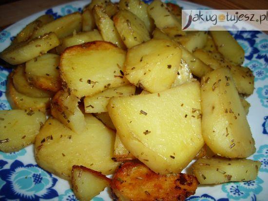 Ziemniaki zapiekane z rozmarynem
