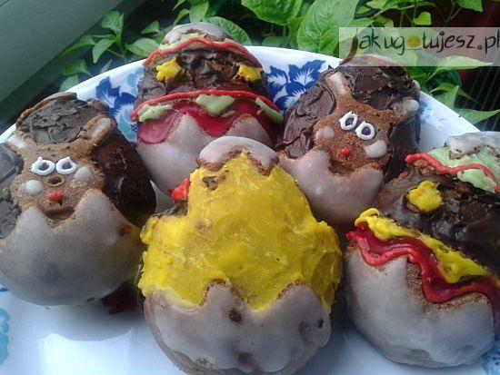 Kakaowe babeczki wielkanocne