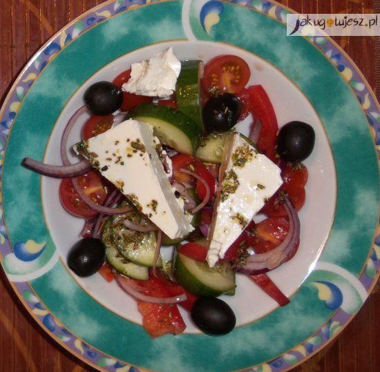 Sałatka grecka - horiatiki