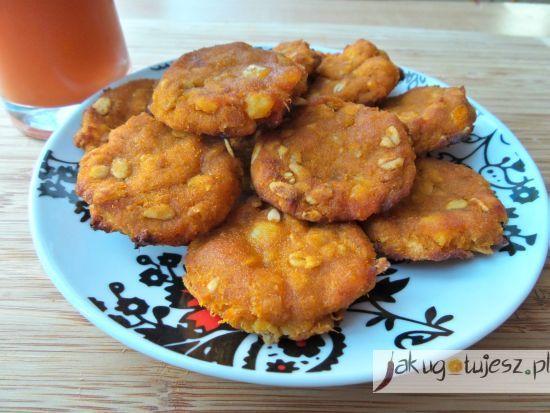 Ciastka marchewkowe z olejem rzepakowym